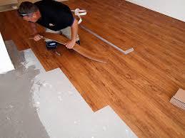 how to install vinyl plank flooring on concrete by how to install lay vinyl flooring tile