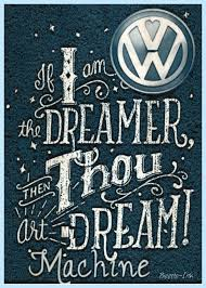 Vw Quote Vw LoGo Volkswagen inspirational quote METAL WALL PLAQUE 45