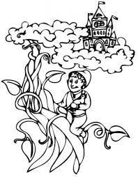 How To Color Jack And The Beanstalk Coloring Pages Jack And The ...