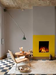 01 mirrored glass fireplace idea modern fireplace ideas 8