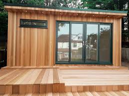 storage shed office. Garden-office-with-storage-shed-at-the-rear- Storage Shed Office 2