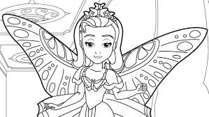 Small Picture Princess Amber in Sofia The First Coloring Page NetArt