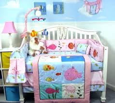baby nursery under the sea baby nursery fishing crib bedding sets set on room decorating ocean