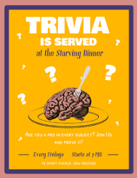 Create Free Trivia Night Flyers Postermywall
