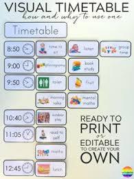 Visual Schedule Autism On Pinterest