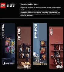 lego wall art soundtracks now available