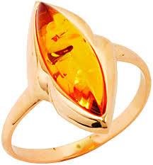 Серебряный перстень <b>Балтийское золото</b> 51160040-<b>bz</b> c янтарем