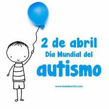Resultado de imagen de dia del autismo color azul colegio
