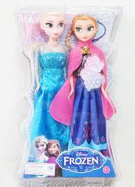 Hộp quà tặng 2 búp bê ELsa và Anna có khớp cho bé gái