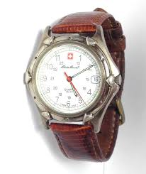 17 best images about watches i want men s watches auction ends in 3 days eddie bauer men s watch in silvertone white brown