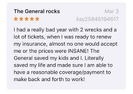 It acts as secondary coverage when the owner's insurance won't cover or doesn't cover all the bills. The General Auto Insurance Reviews Rates Quotes 2021