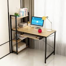 office working table. Beautiful Table 2 In 1 Computer Desk With Bookshelves Working Table Home U0026 Office Furniture  Storage Rack For T