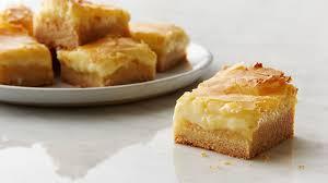 Ooey Gooey Butter Cake Bars Recipe Tablespooncom
