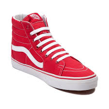 vans red and white. cheep - vans sk8 hi skate shoe red/white uk red and white