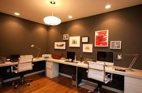 colors for a home office. Home Office Color Ideas View In Gallery Clean And Elegant Dark Colors Design For A