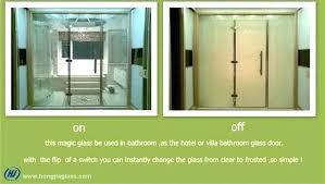 smart glass shower door smart glass bathroom switchable privacy glass cost switchable privacy glass doors surprising