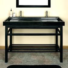 double sink metal legs bathroom sinks art console with kohler pedestal small sink with metal legs 24 console bathroom