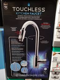 touch activated kitchen faucet. Touch Activated Kitchen Faucet E