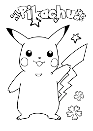 I originally drew these pokemon coloring pages back when my son was young enough to actually consider coloring them. Pokemon Coloring Pages 100 Best Free Printables Images
