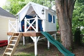 House Plan Basic Tree House Plans Free Standing Best Diy Playhouse