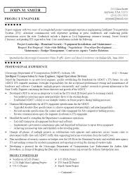Civil Engineering Technician Resume Gorgeous Resumes Objective Samples Sample Of Career Objectives In Resume