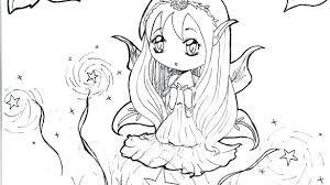 Chibi Anime Coloring Pages Coloring Pages Anime Color Page Fairy For