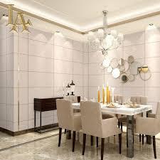 Hochwertige Moderne 3d Marmor Ziegel Tapete Für Wände Luxus Grau