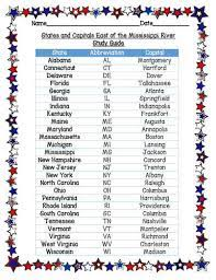 Maybe you would like to learn more about one of these? States And Capitals East Of The Mississippi River By Rebecca S Ready Resources
