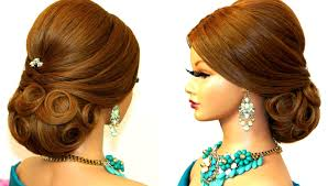 Wedding Bridal Hairstyle hairstyle for long hair bridal updo tutorial youtube 5032 by stevesalt.us