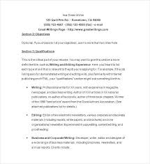 Freelance Writer Resume Freelance Writer Resume Freelance Writer ...