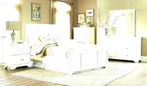 Winsome Distressed White Bedroom Furniture Tan Leather Lounge ...