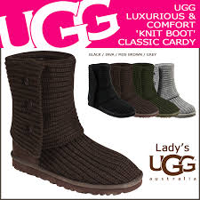 UGG UGG womens classic Cardy boots 5819 WOMENS CLASSIC CARDY Womens  Sheepskin