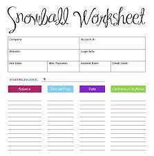 5 Debt Snowball Spreadsheet Templates Word Templates