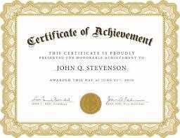 Word Award Template Printable Rental Agreement Lease Certification