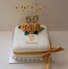 Ideas For 50th Wedding Anniversary Cakes Classic Style Best 50th