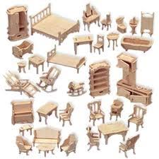 dolls furniture set. Dollhouse Furniture Set Wooden For Dolls House . F