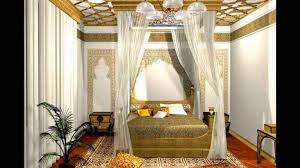 Middle Eastern Bedroom Decor Bedroom Interior Design In Arabian Style Youtube