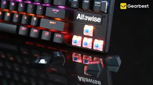 <b>Alfawise K1 LED Backlit</b> Mechanical Keyboard - Gearbest.com
