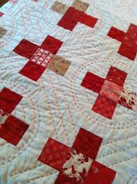 50 best Quilting: Hand quilting stitches images on Pinterest ... & Midwinter Reds pattern by Minick and Simpson: nice example of Big Stitch  quilting Adamdwight.com