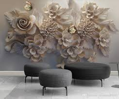 custom modern wallpaper flower erfly wallpaper for walls 3 d living room sofa tv backdrop 3d wallpaper walls home decor wall papers mobile wallpaper in