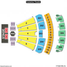 Comerica Seating Chart Phoenix The Most Elegant As Well As Attractive Comerica Theater