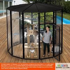 10 diameter indoor outdoor cat cage