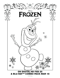 Olaf Frozen Coloring Pages Pictures To Color Frozen Coloring Pages
