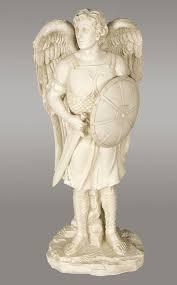 garden angel statue archangel michael