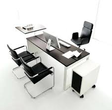 office table ideas. Cozy Long Office Tables Images Designs Table Ideas Dark Brown Wooden U Shape . Y