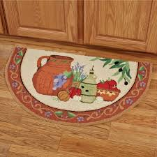 Kitchen Floor Rugs Washable Decorating Luxury Formless Kitchen Rugs With Grapes Leaf And