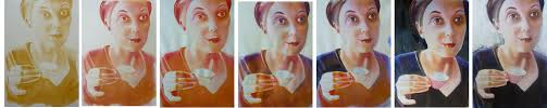 portrait acrylic step step painting painting easy step step by acrylic by