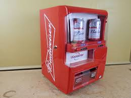Koolatron Mini Vending Machine Interesting Koolatron Mini Fridge EC48 CUSTOM Budweiser Beer Vending Machine