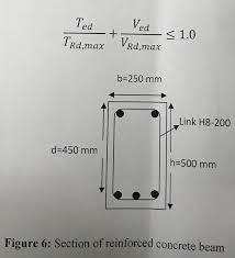 Shear Link Design Solved Question Reinforced Concrete Design_ Using Ec2 A