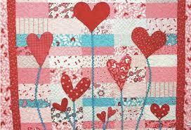 The Best Heart Quilt Designs & Patterns for Valentine's Day & Heart Garden Quilting - Free Pattern Adamdwight.com